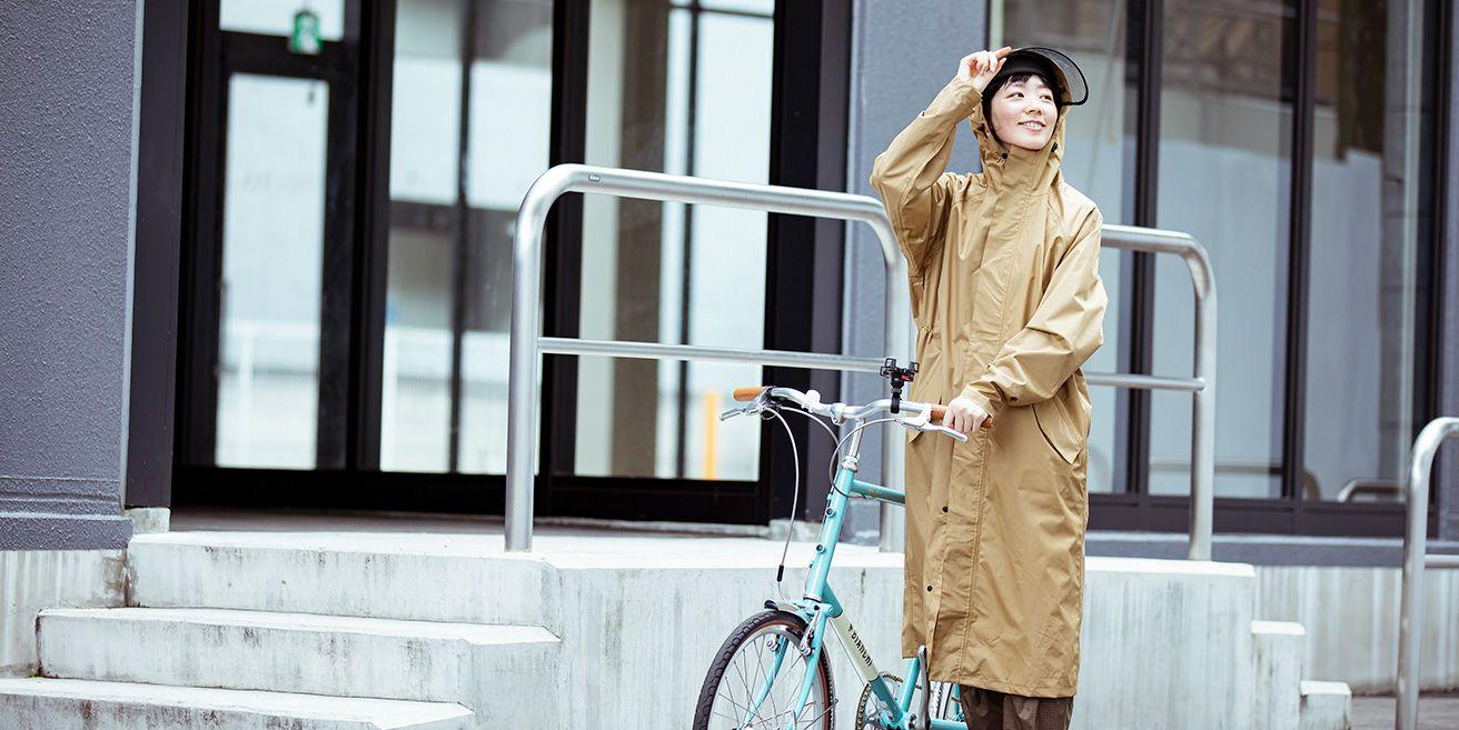 レインコート 自転車 / 通勤・通学スタイル