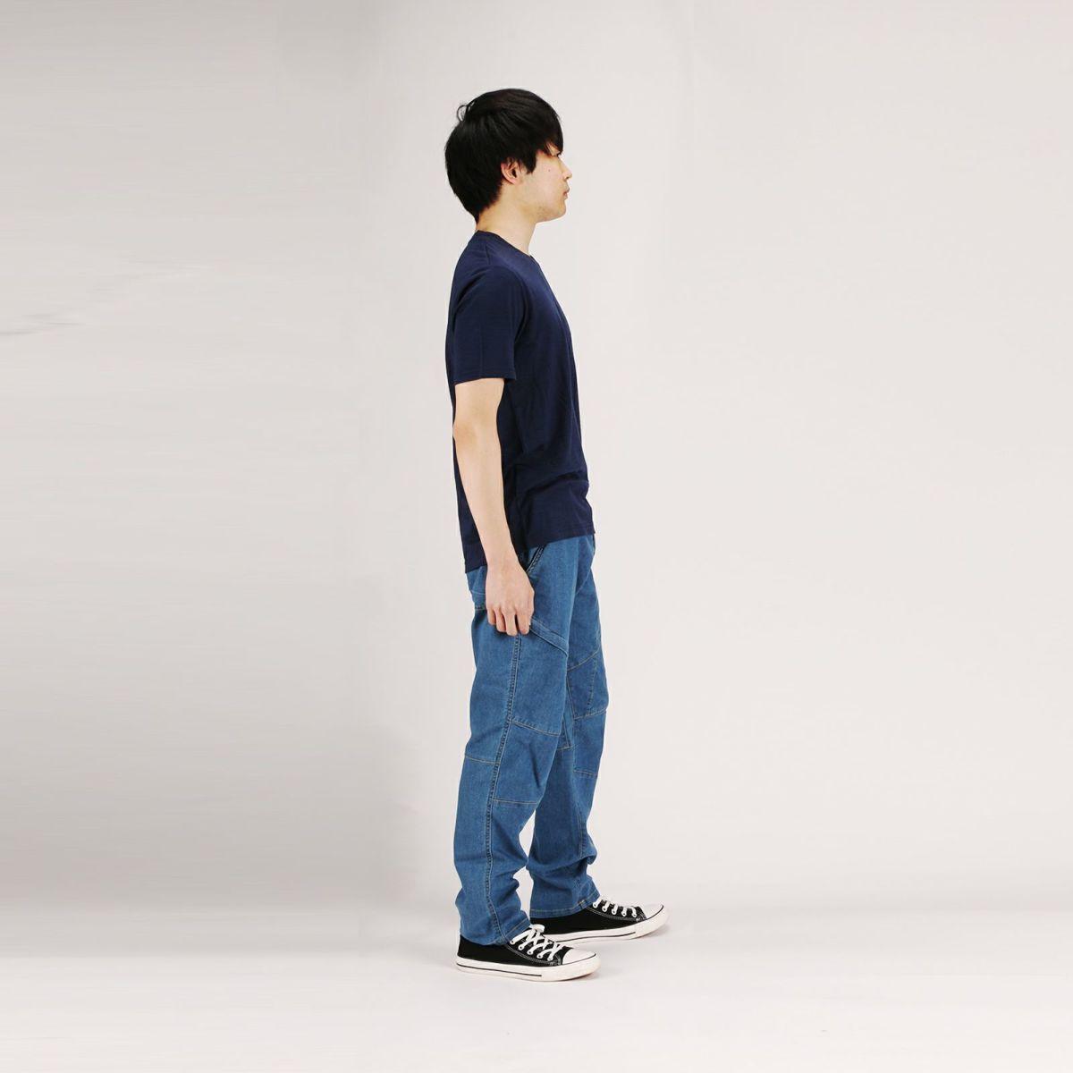 着用イメージ05[男性モデルのサイズ]身長:168cm 着用サイズ:Lサイズ