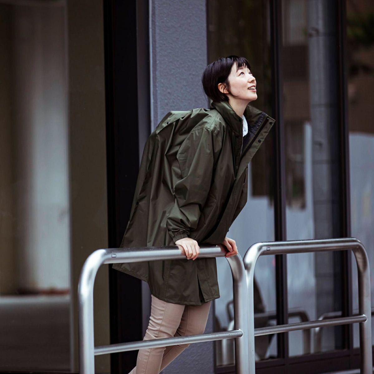 詳細:着用イメージ オリーブ [女性モデルのサイズ]身長:168cm 着用サイズ:L