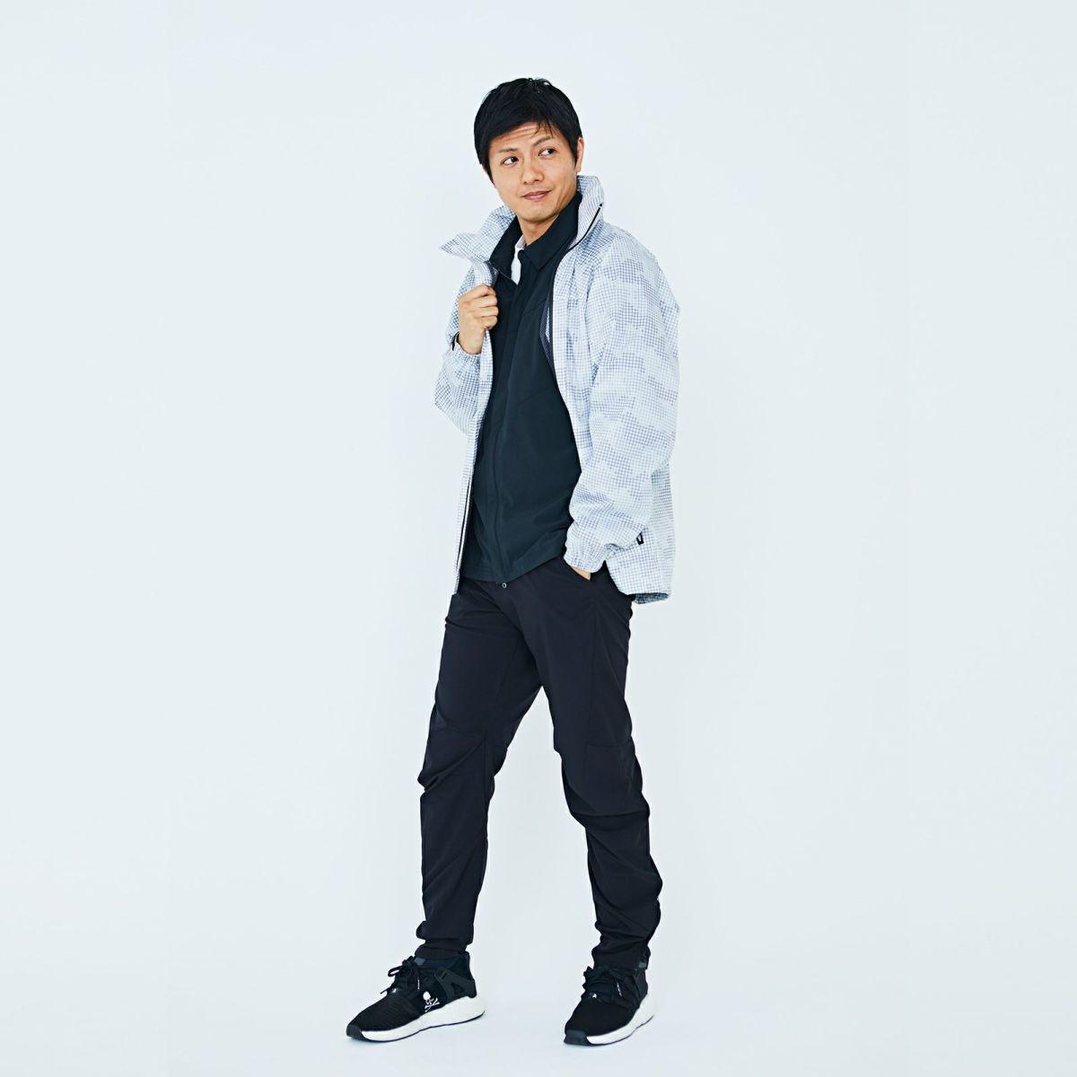 詳細:着用イメージ ホワイト [男性モデルのサイズ]身長:174cm 着用サイズ:L
