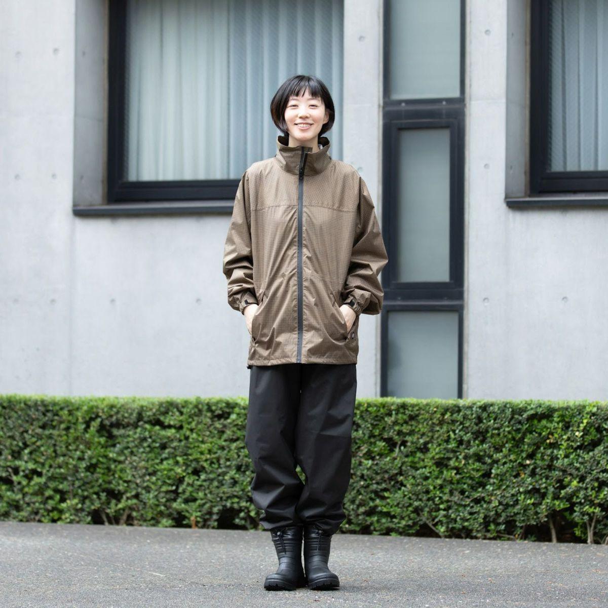 詳細:着用イメージ マッシュルーム [女性モデルのサイズ]身長:168cm 着用サイズ:L