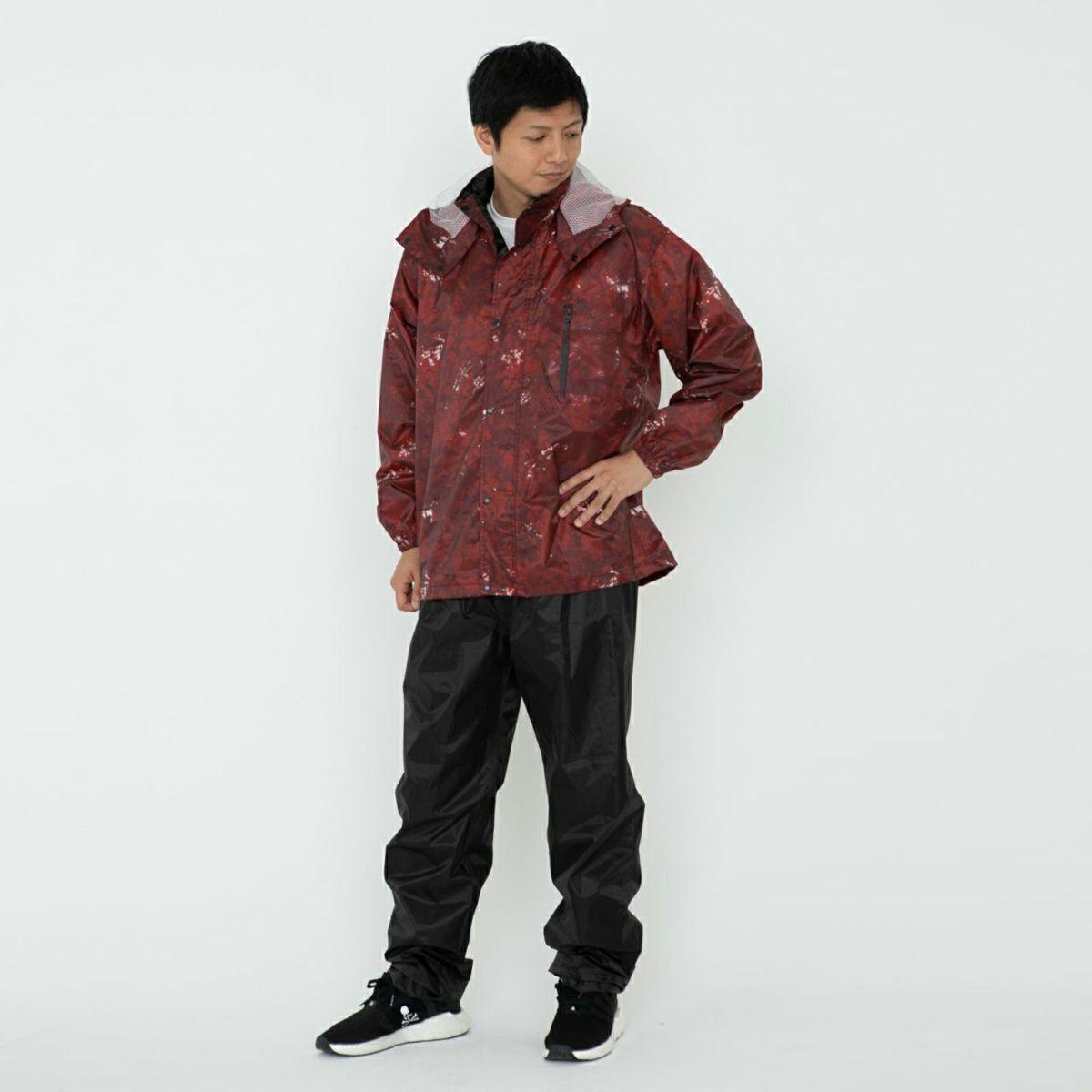 詳細:着用イメージ ペイント ジッパークローズ  [男性モデルのサイズ]身長:174cm 着用サイズ:L