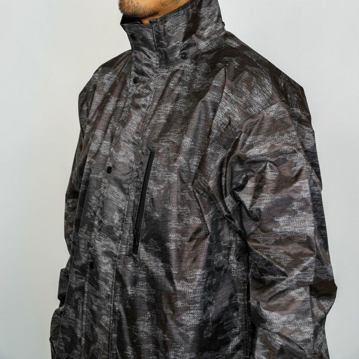 詳細:着用イメージ メランジ ジャケット  [男性モデルのサイズ]身長:174cm 着用サイズ:L
