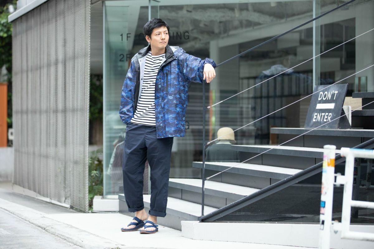 詳細:着用イメージ デジカモ  [男性モデルのサイズ]身長:174cm 着用サイズ:L