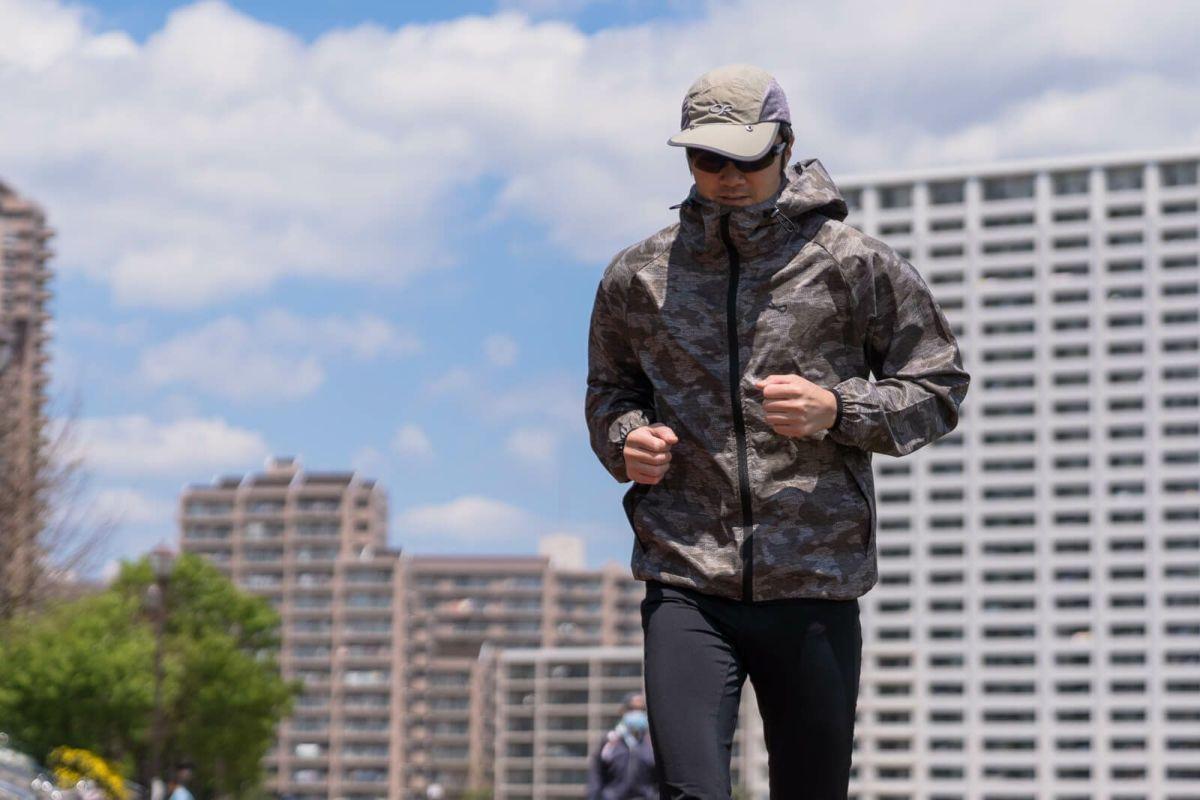 着用イメージ メランジカモ [男性モデルのサイズ]身長:176cm 着用サイズ:L