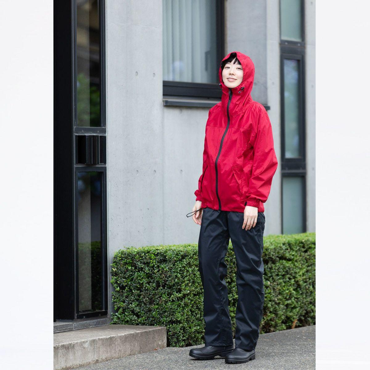 [女性モデルのサイズ]身長:168cm 着用サイズ:M / (下)7571 ストレッチシールド パンツ M