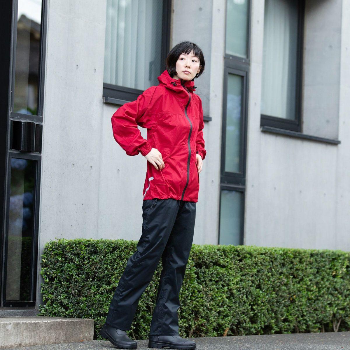 [女性モデルのサイズ]身長:168cm 着用サイズ:M / (上)7570 KJ ストレッチシールド ジャケット M