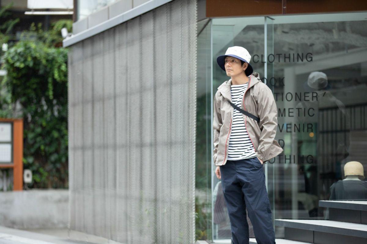 [男性モデルのサイズ]身長:174cm 着用サイズ:L