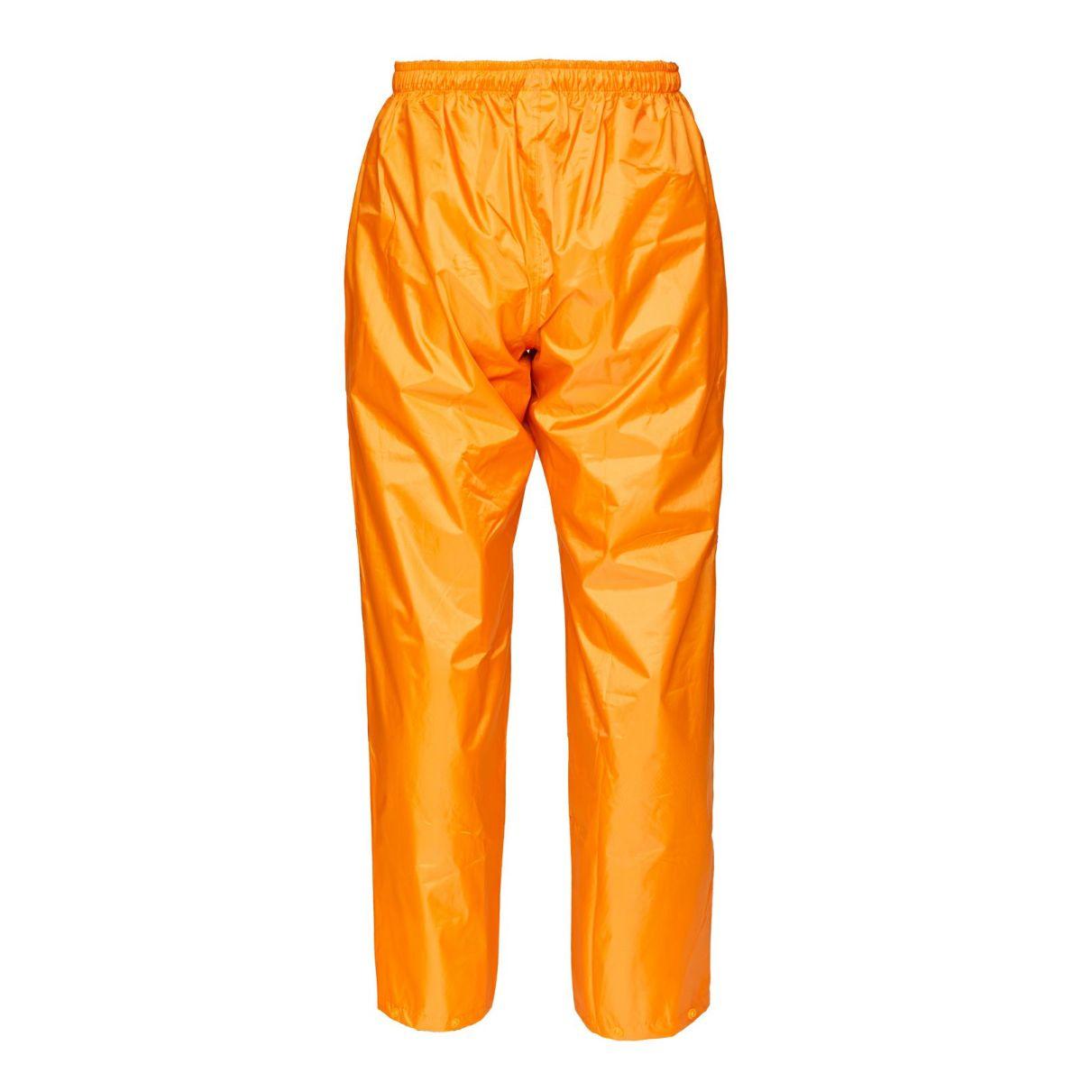 詳細:オレンジパンツ背面