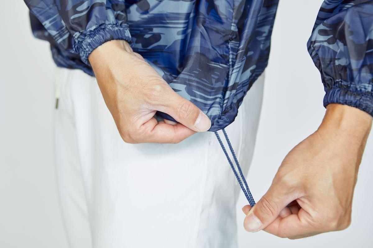 詳細:裾調節ドローコード